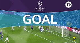 Goal: FC Barcelone 2 - 0 Paris SG : 40', Kurzawa, own goal