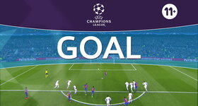 Goal: FC Barcelone 3 - 0 Paris SG : 50', Messi, penalty