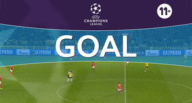 Goal: Borussia Dortmund 4 - 0 Benfica : 85', Aubameyang