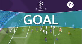 Goal: FC Barcelone 6 - 1 Paris SG : 90'+5, Sergi Roberto