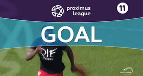 Goal: Roulers 1 - 2 Royal Antwerp: 78', Limbombe