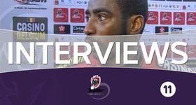 Interviews Lokeren (Lokeren - Charleroi)
