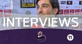 Interviews Charleroi (Lokeren - Charleroi)