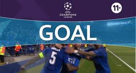 Goal: Leicester 1 - 0 FC Séville : 27', Morgan