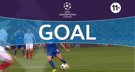 Goal: Leicester 2 - 0 FC Séville : 54', Albrighton