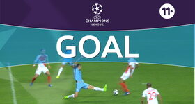 Goal: Monaco 2 - 0 Manchester City : 29', Fabinho