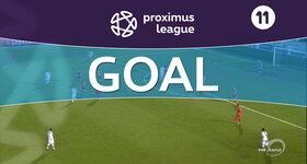Goal: OH Louvain 1 - 1 AFC Tubize : 79', Tabekou