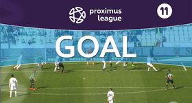 Penalty: Cercle Bruges 0 - 1 Lommel United 27' SCHEELEN