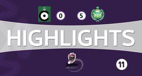 Cercle Bruges 0 - 5 Lommel United
