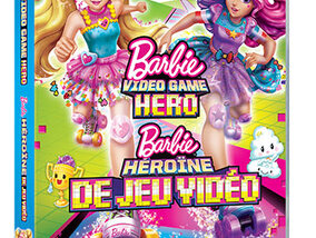 Win een dvd en pop van de nieuwe film 'Barbie Video Game Hero'!