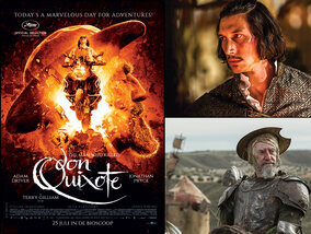 Win een duoticket voor Terry Gilliams 'The Man Who Killed Don Quixote'!