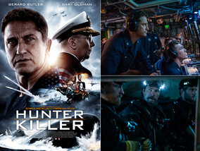 Win een duoticket voor Hunter Killer!