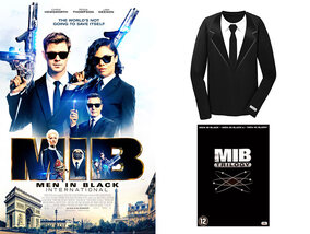Win een exclusief MIB-shirt én een dvd-box van de MIB-trilogie, dankzij 'Men in Black: International'!