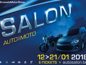 Win vier tickets voor het Auto/Moto Salon in Brussel