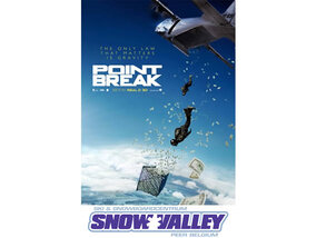 Win duotickets voor de film 'Point Break' en vouchers voor Snowvalley in Peer !