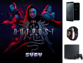 """Gagnez 1 PS4 Slim 500, 1 Samsung Galaxy S9, 1 Apple watch 3 avec SYFY et la série """"The Outpost"""""""