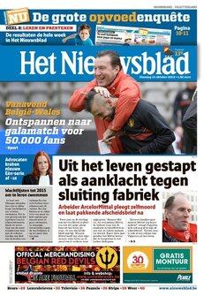 Krantenkoppen van 15/10/2013 (update van 16:01)