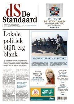 De Standaard van dinsdag 15/10/2013