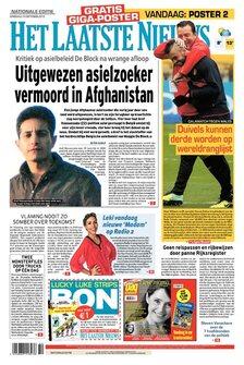 Het Laatste Nieuws van dinsdag 15/10/2013