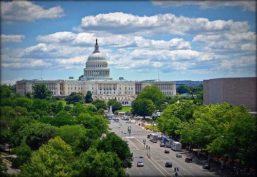 Washington, het centrum van de macht in de U.S.A.!