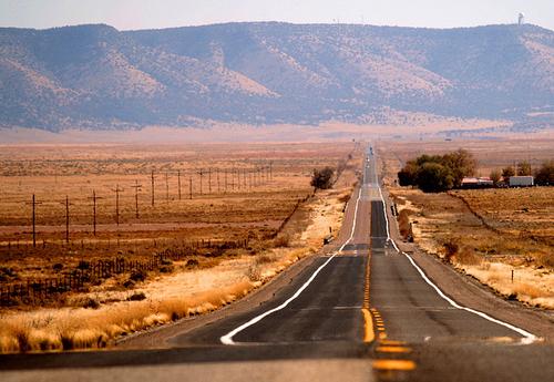 Sur la Route 66...