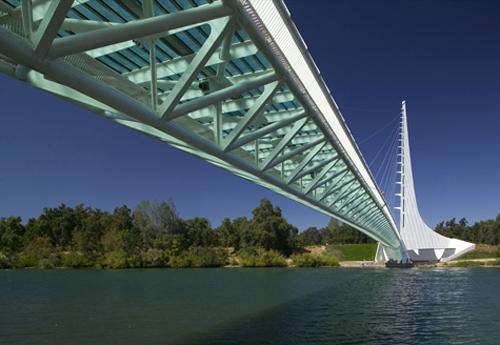 le pont cadran solaire de redding calatrava architecte des temps modernes