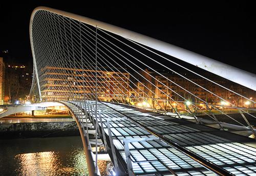 le pont zubizuri de bilbao calatrava architecte des temps modernes