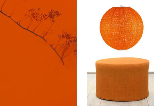 9. Oranje - Geef kleur aan je interieur