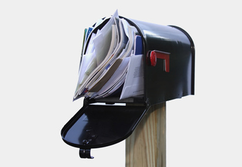 Faites vider votre boîte aux lettres