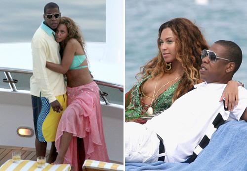 Beyoncé et Jay,Z  les pachas du RnB