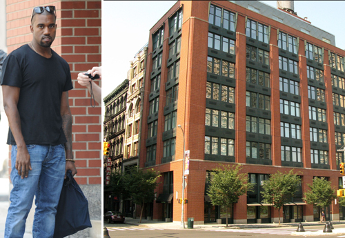 Kanye west son appartement soho appartements de stars new york - Appartement a acheter new york ...