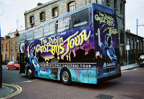 Een Halloweenritje per bus