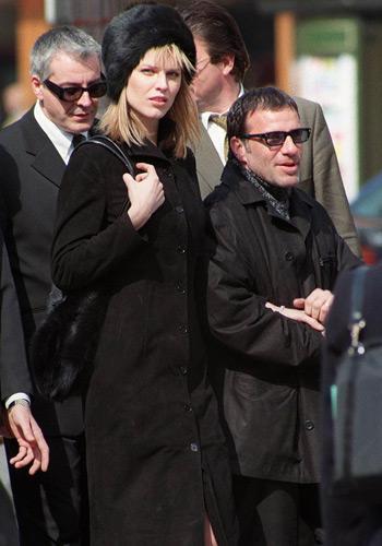 Eva Herzigova couple