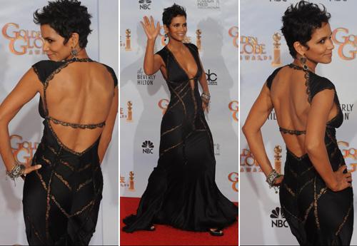 Halle Berry - Robes Glam aux Golden globes Halle Berry Bio