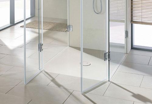 Italiaanse douche nieuw voor keuken en badkamer inloopdouche facq - Amenager badkamer ...