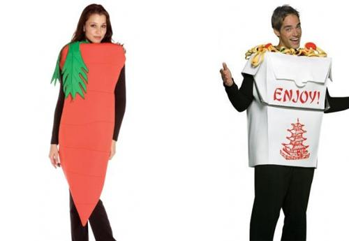 Costume de légume