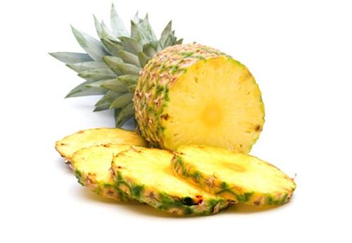 Ananas als vetverbrander