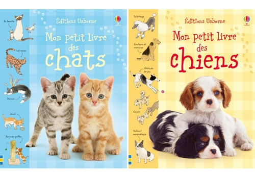 d s 5 ans petit livre des chats et des chiens enfants des livres pour apprendre. Black Bedroom Furniture Sets. Home Design Ideas