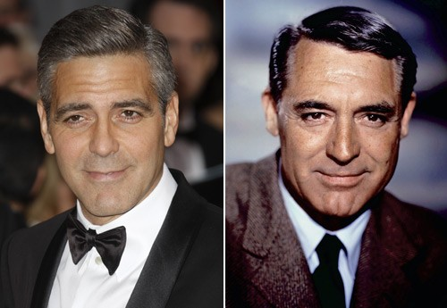 George clooney et cary grant avatars de stars for Dujardin height