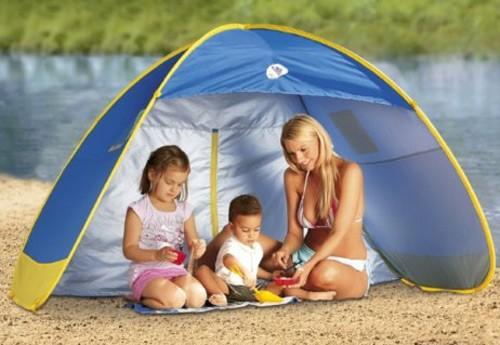 Une tente pour se prot ger du soleil prot ger les enfants du soleil nos c - Se proteger du soleil ...