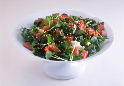 Salade de poisson cru au vinaigre de tomate salades d for Salade poisson