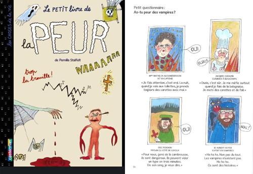 Le petit livre de la peur de pernila stalfelt d s 7 ans for La peur du nombre 13