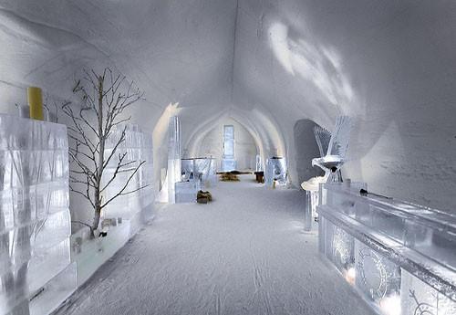 Het ijshotel een vakantie in lapland zo gek nog niet for Interieur igloo