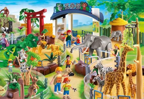 figurines grand zoo playmobil le jouet de l 39 ann e. Black Bedroom Furniture Sets. Home Design Ideas