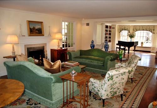 Woonkamer - De villa van Michael Douglas en Catherine Zeta-Jones