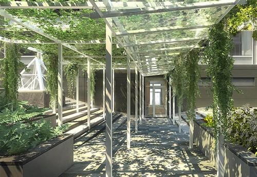 Pergola het penthouse van justin timberlake - Pergola klimplant ...