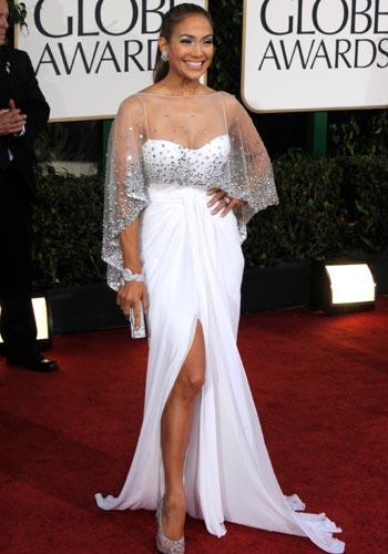 07fe2918e20ef Jennifer Lopez - Les plus belles robes des Golden Globes