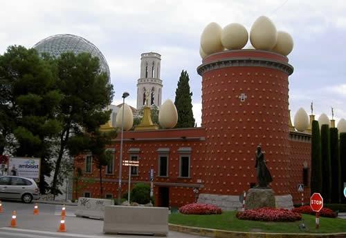 La Torre Galatea (Figueres, Espagne)
