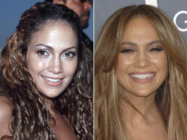 Jennifer Lopez avant et après chirurgie esthétique