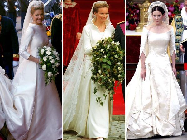 mariages princiers les plus belles robes de mari e mariages princiers les plus belles. Black Bedroom Furniture Sets. Home Design Ideas